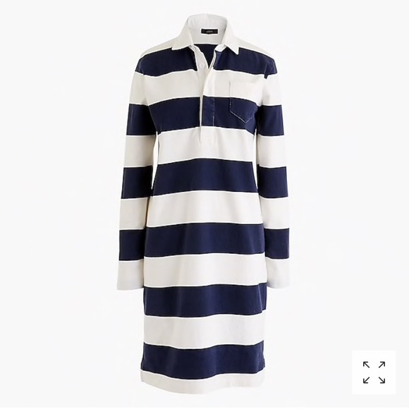 4cf281dacc7 J. Crew Dresses | J Crew 1984 Rugby Shirt Dress | Poshmark